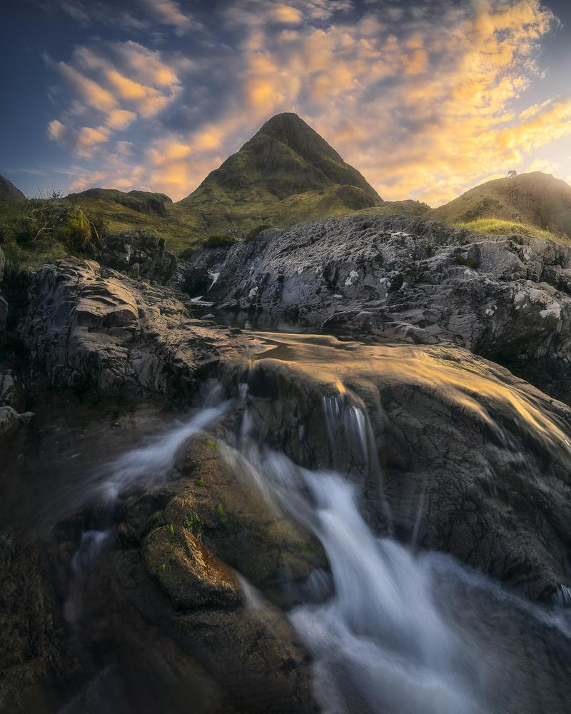 Golden Glencoe by David Aguilar