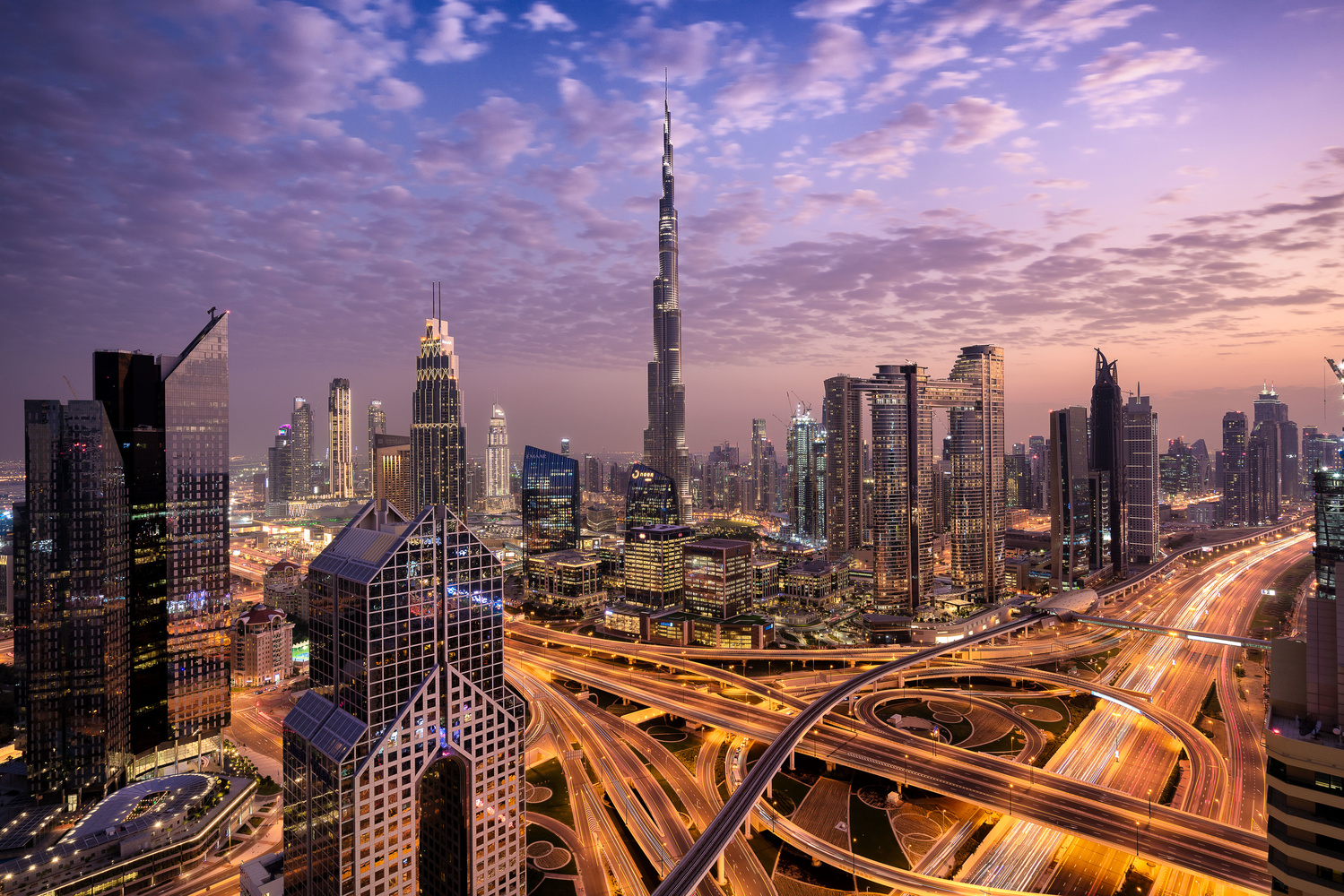 Downtown Dubai by Ben Preece