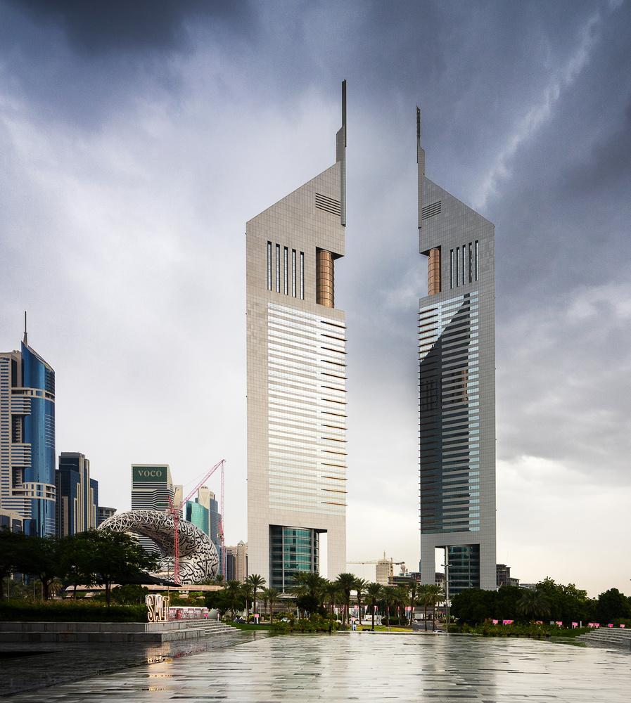 Emirates Towers, Dubai. by Ben Preece
