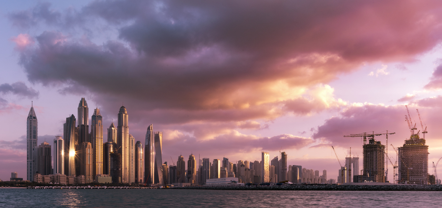 Dubai Marina by Ben Preece
