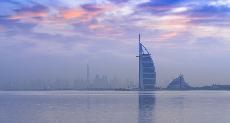 Early Blue Hour Jumeirah by Ben Preece