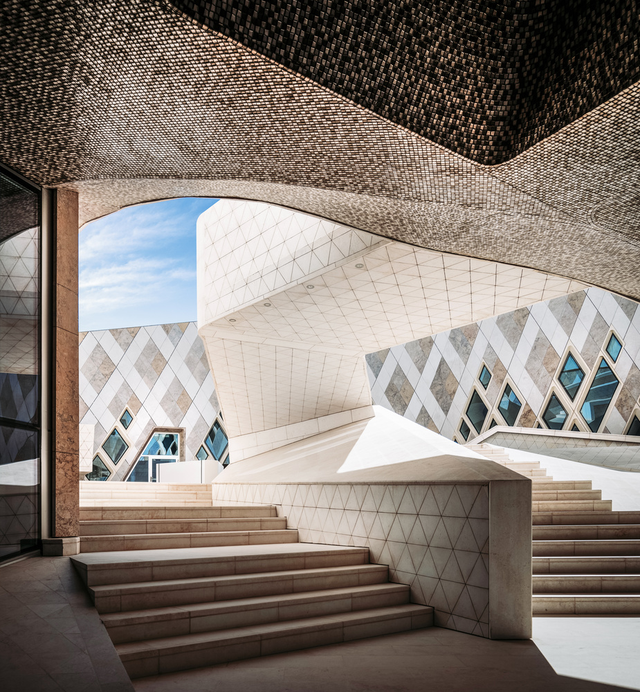 Zayed Desert Learning Center by Ben Preece