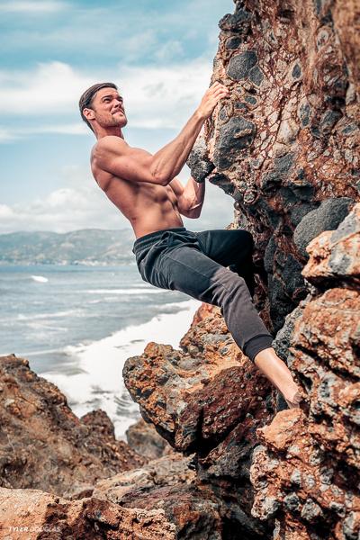 Coastal Bouldering by Tyler Douglas