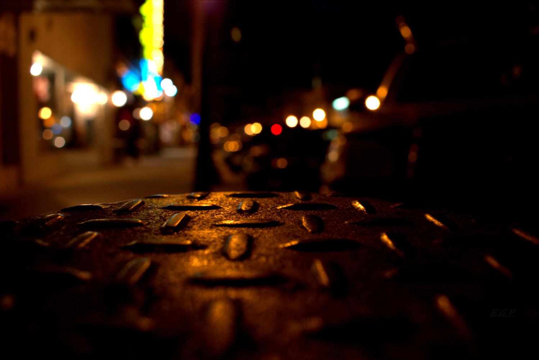 dimond plate kinda night by Evan Graves