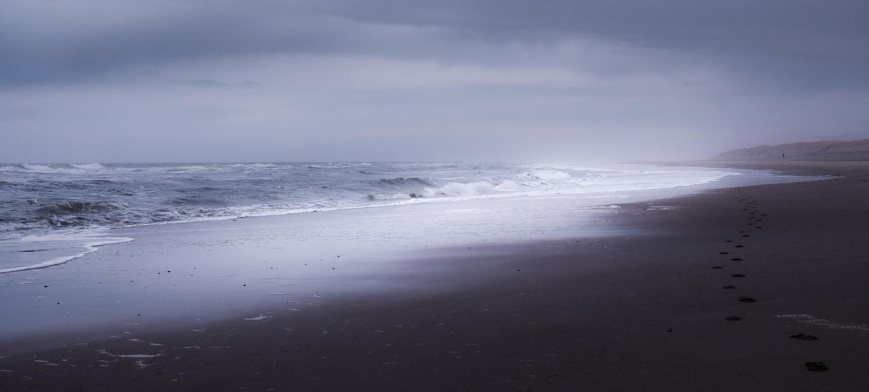 stormy texel by teun van dijk