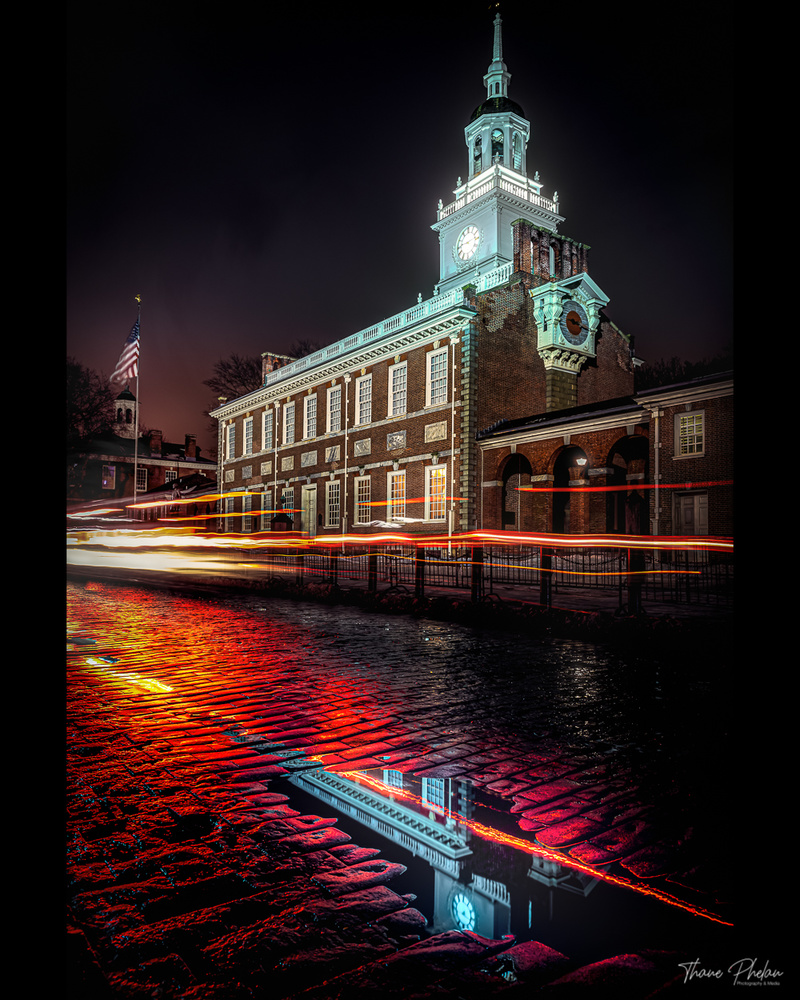 Independence Hall 2020 by Thane Phelan