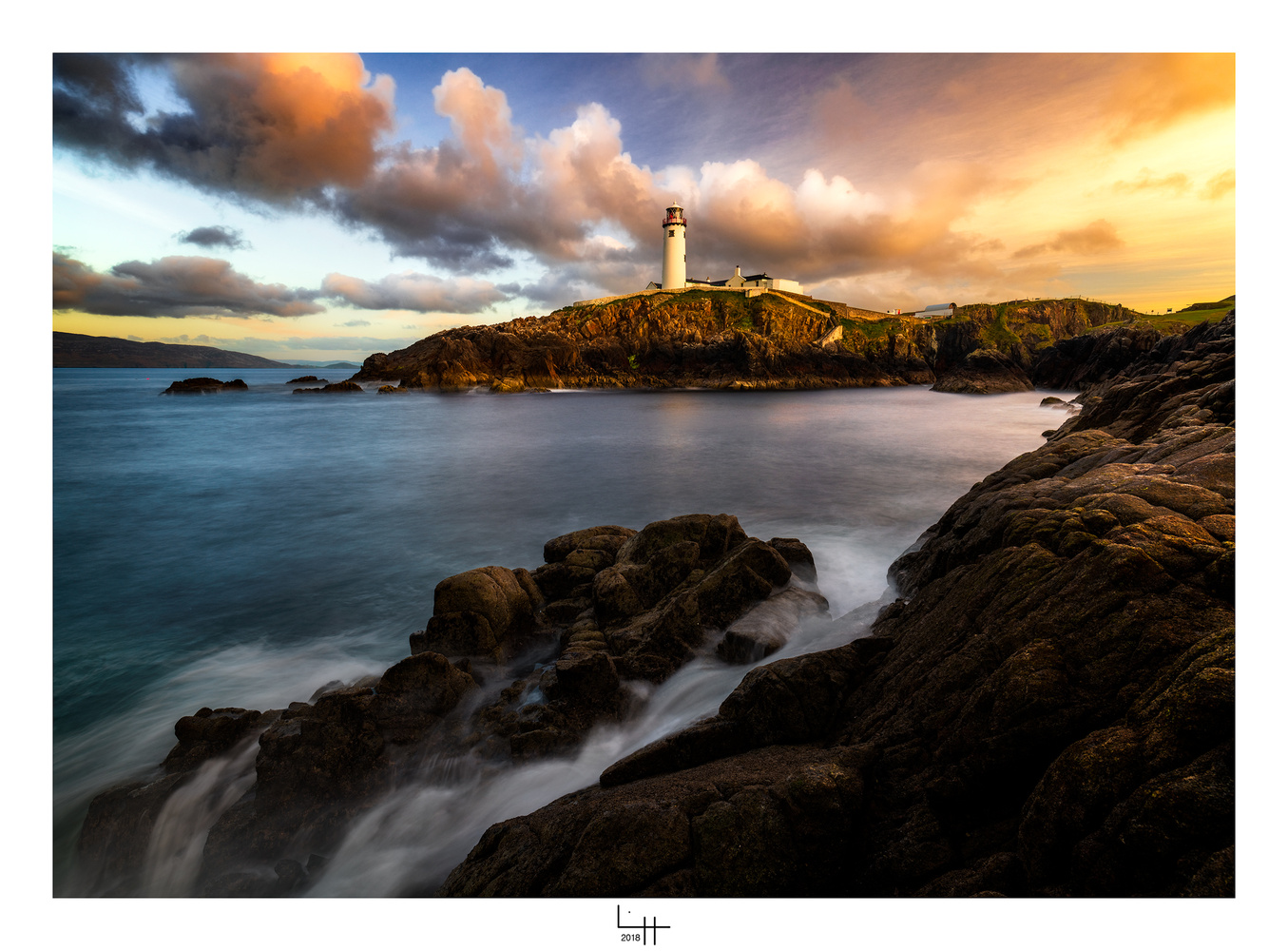 Fanad Head, Co Donegal, Ireland by Lionel HUG