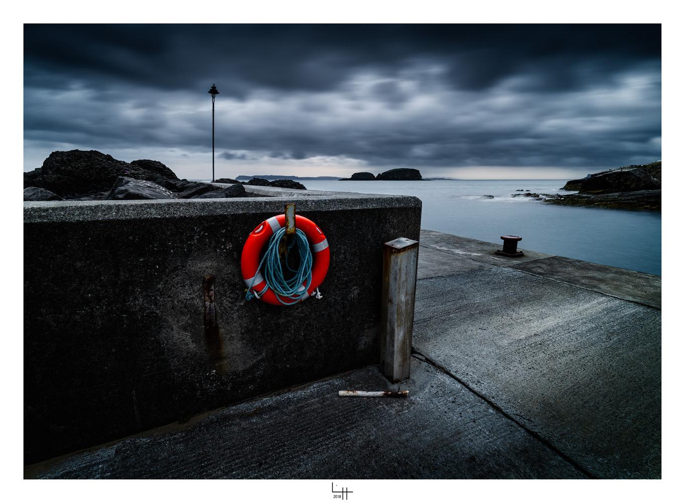 La Bouée, Ballintoy, Co Antrim, Irlande du Nord by Lionel HUG