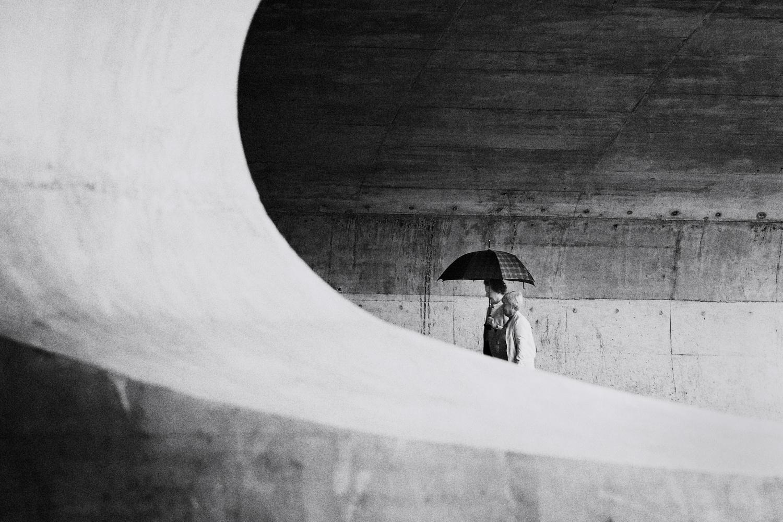 When it rains by Chris van Dolleweerd