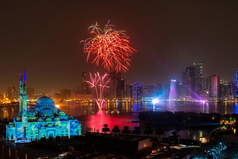 Sharjah Light Festival by Sohail Anjum