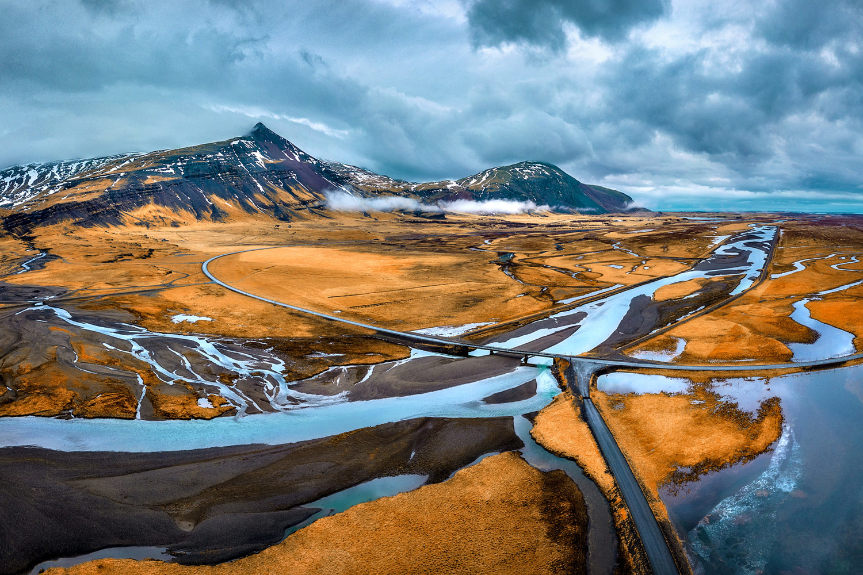 Scene from Iceland by Paulian Prajitura