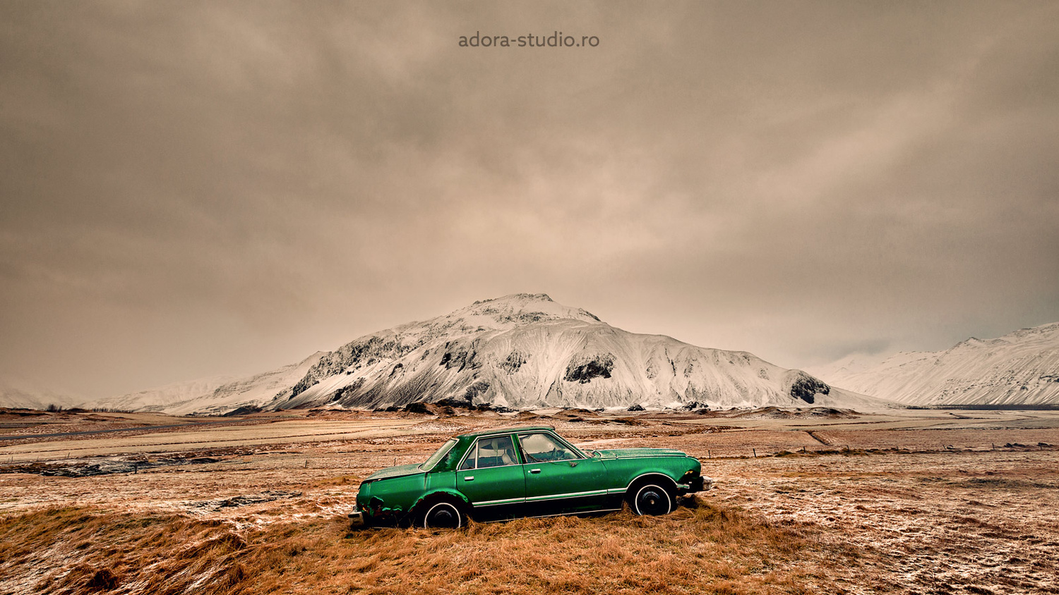 Driving in Iceland with style by Paulian Prajitura