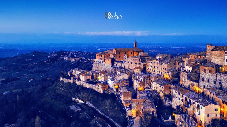 Montepulciano by Paulian Prajitura