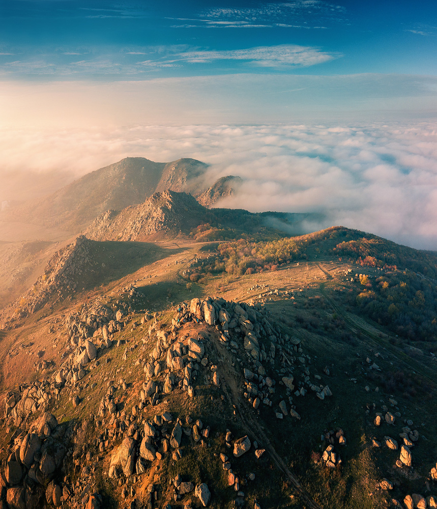 Cloud inversion by Paulian Prajitura