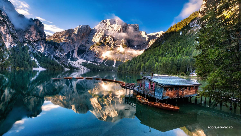 Lago di Braies by Paulian Prajitura