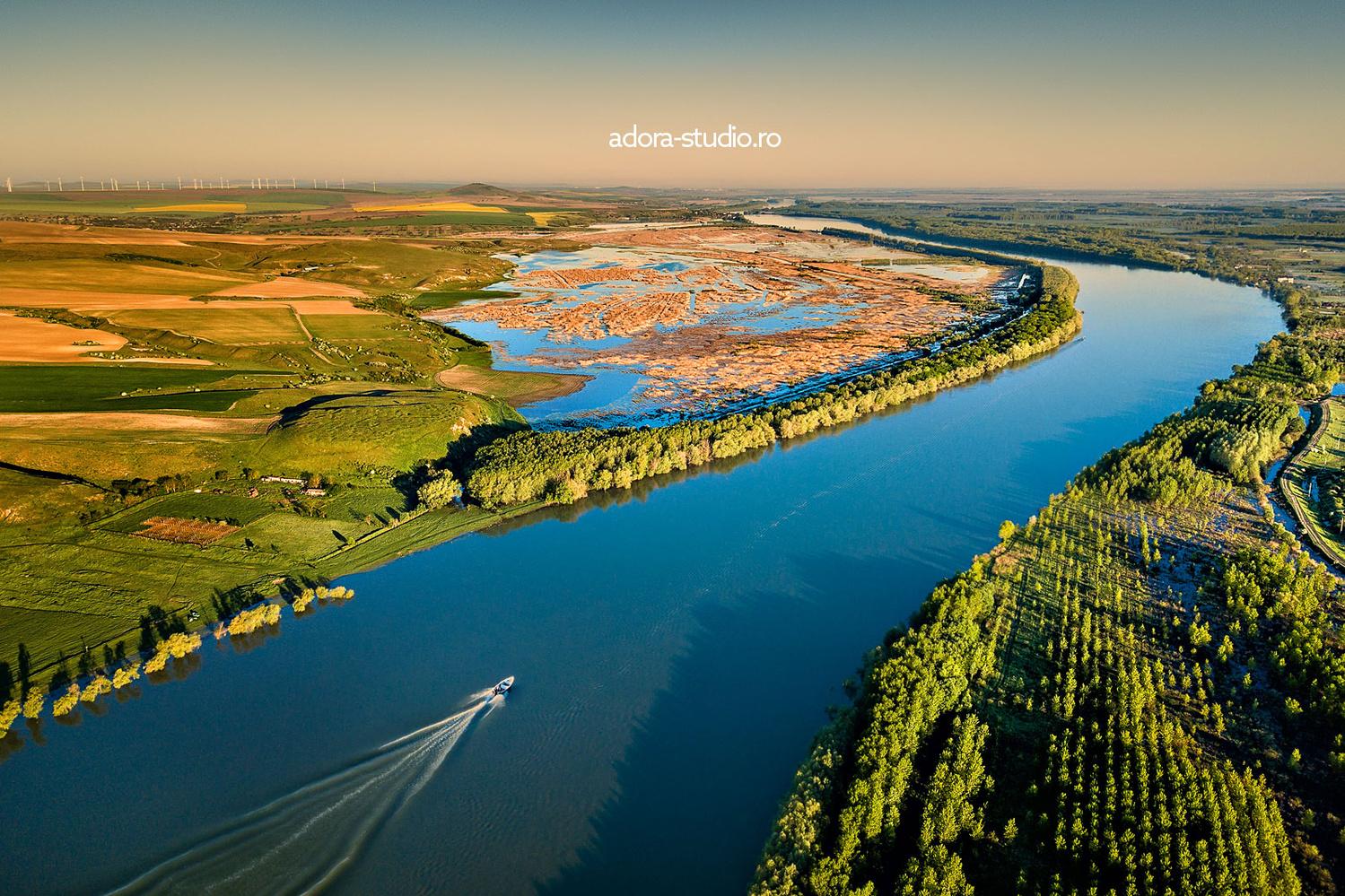Into the Danube Delta by Paulian Prajitura