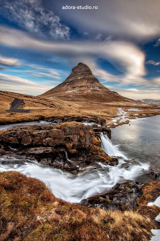 Kirkjufellsfoss by Paulian Prajitura