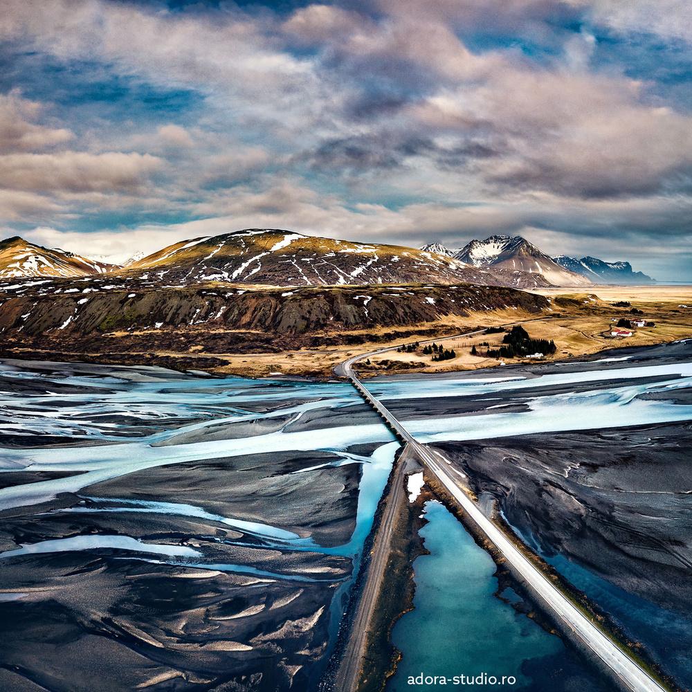 Iceland landscape by Paulian Prajitura