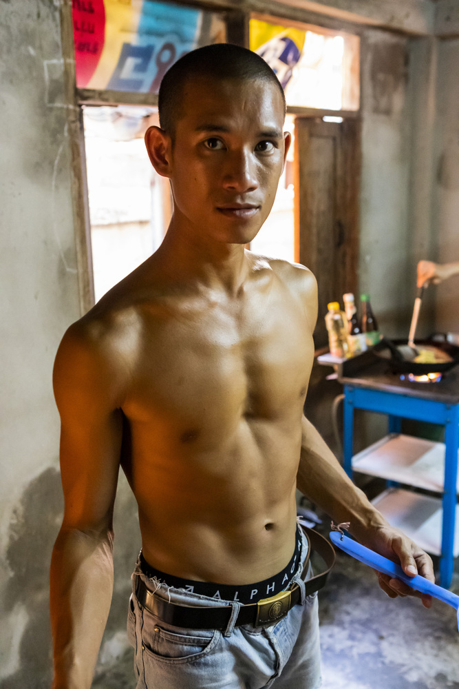 Young Thai man by Stephen Scully