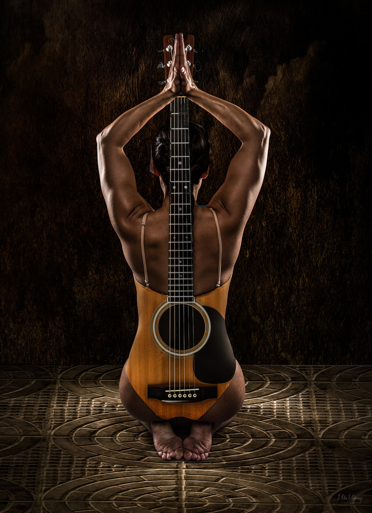 While My Guitar Gently Weeps by Mike Mahoney