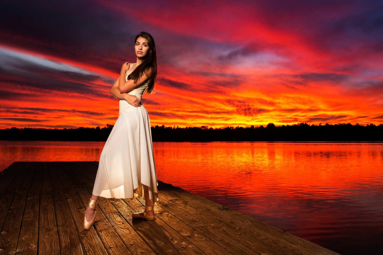 Ballet at Sunset 2 by Mike Mahoney