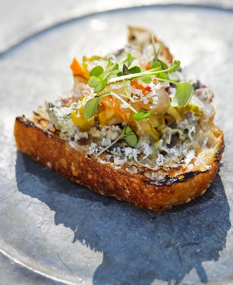 Farm to table appetizer by OMS Photo