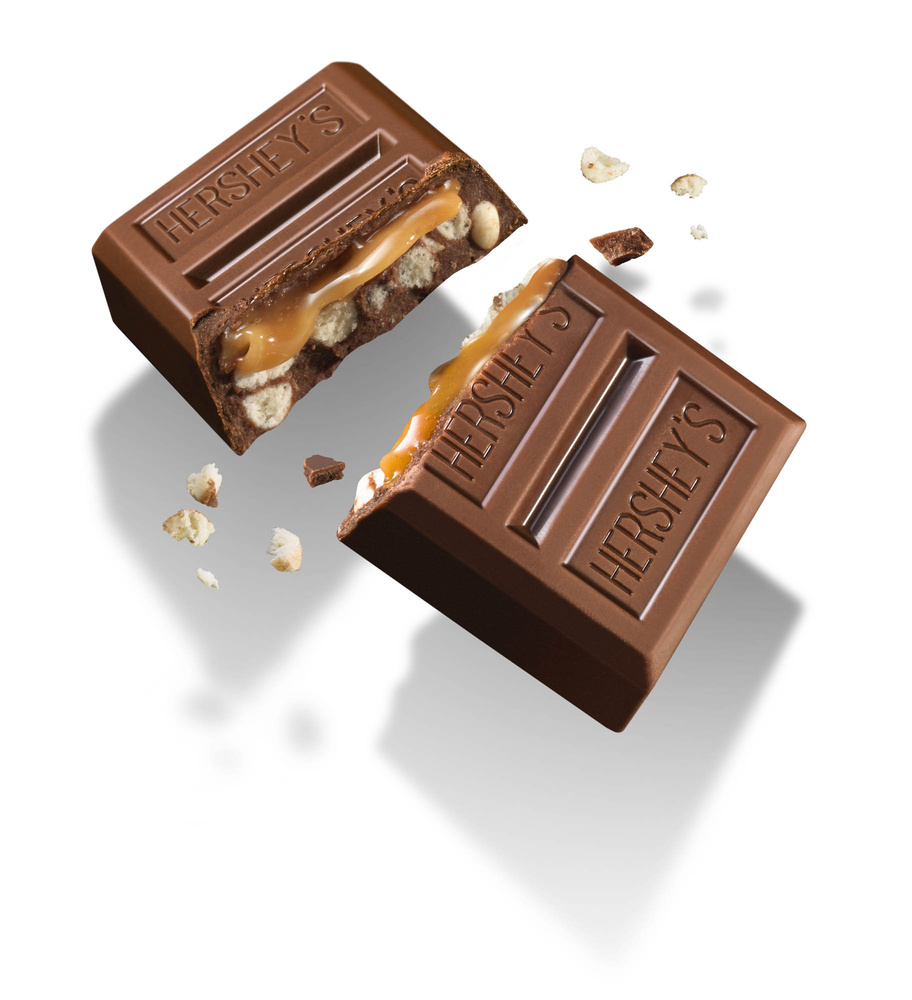 Hershey's layered crunch by OMS Photo