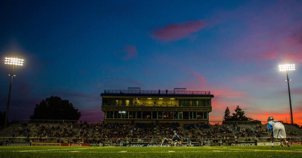Hofstra Stadium by Casey Kermes