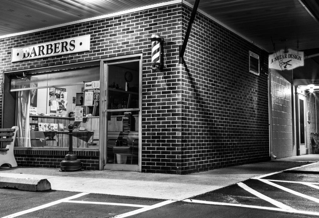 Barber Shop by Casey Kermes