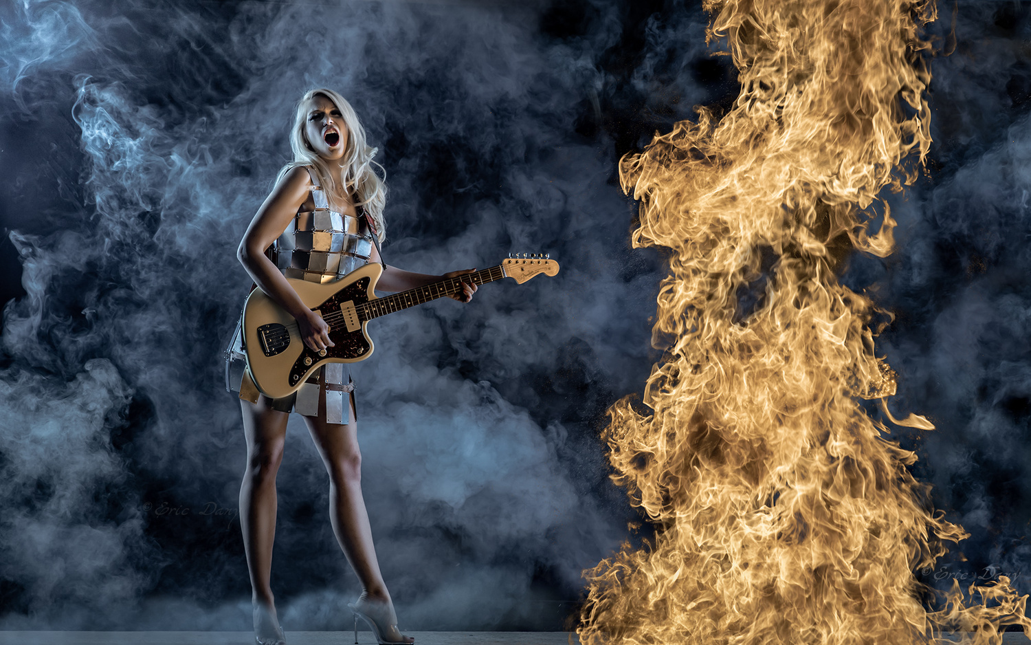 Guitar fever by eric dany