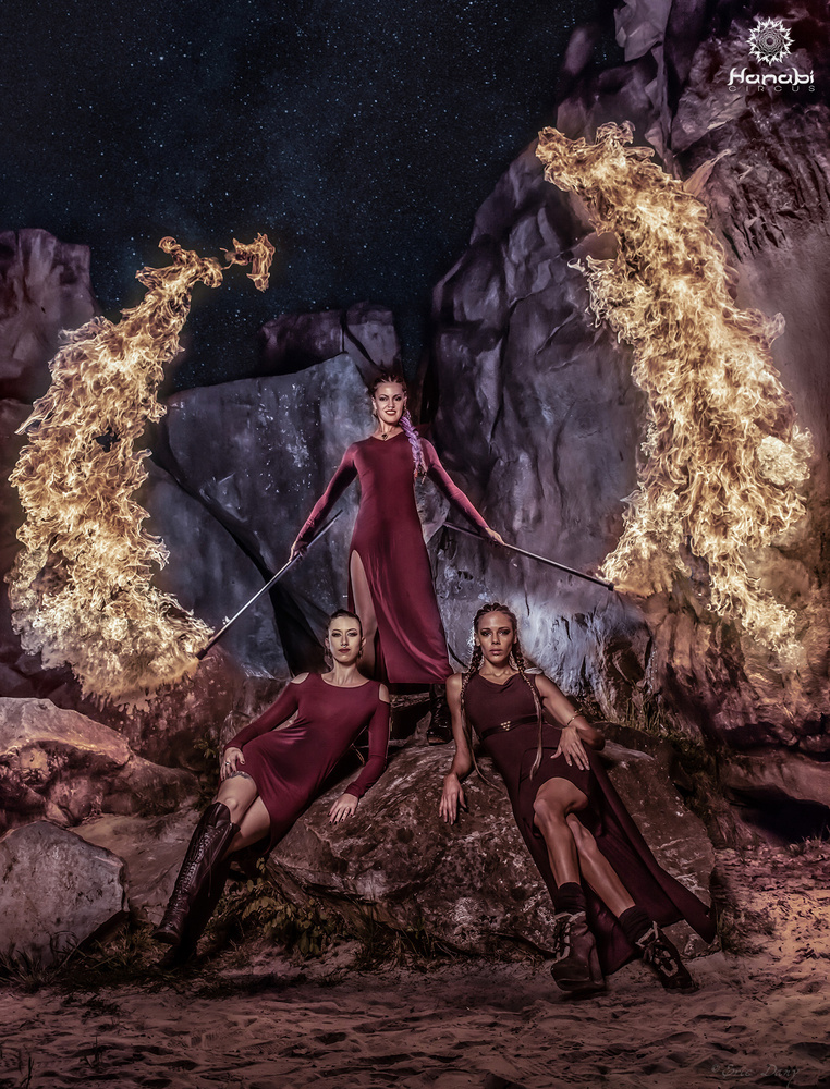 Three powerful women by eric dany