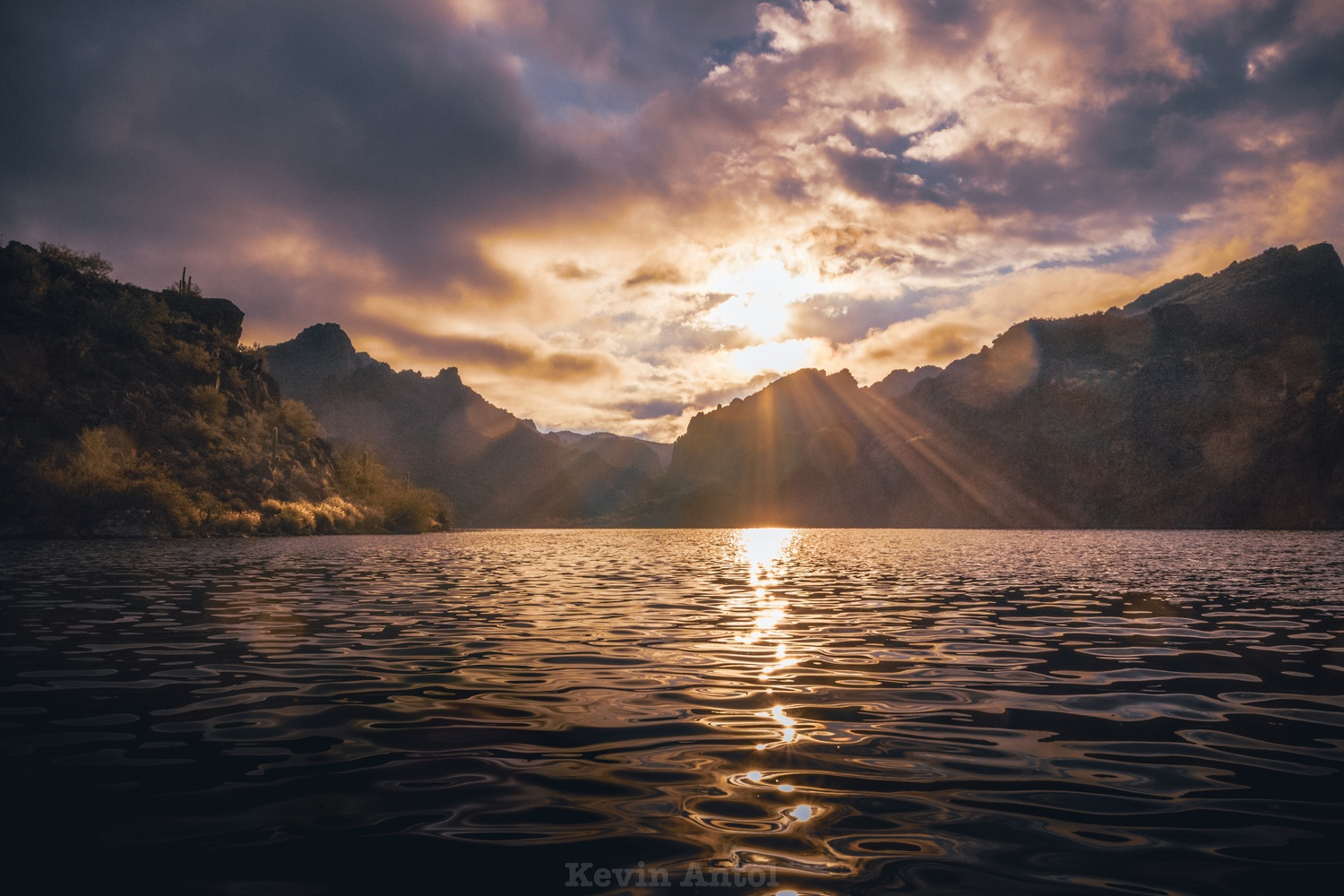 Rise oh sun by Kevin Antol