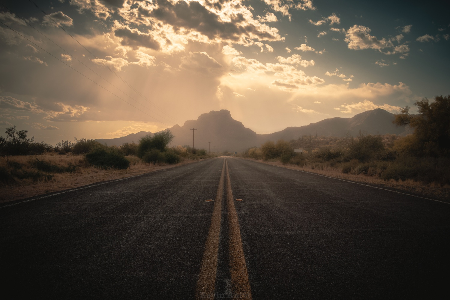Road Alone by Kevin Antol