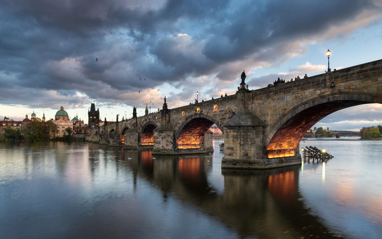 Charles Bridge by Martin Jurák