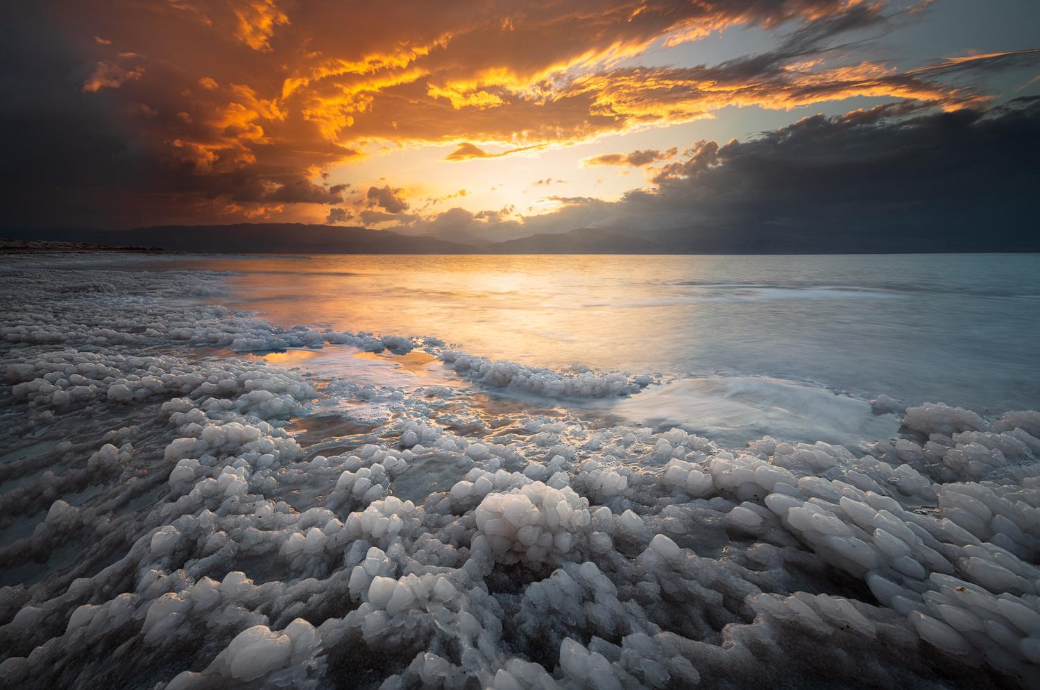 Lines in the Salt by Idan Livni