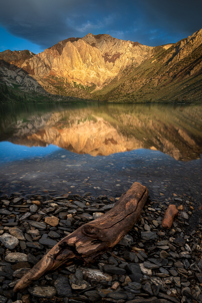 Golden Sierra mountains by Idan Livni