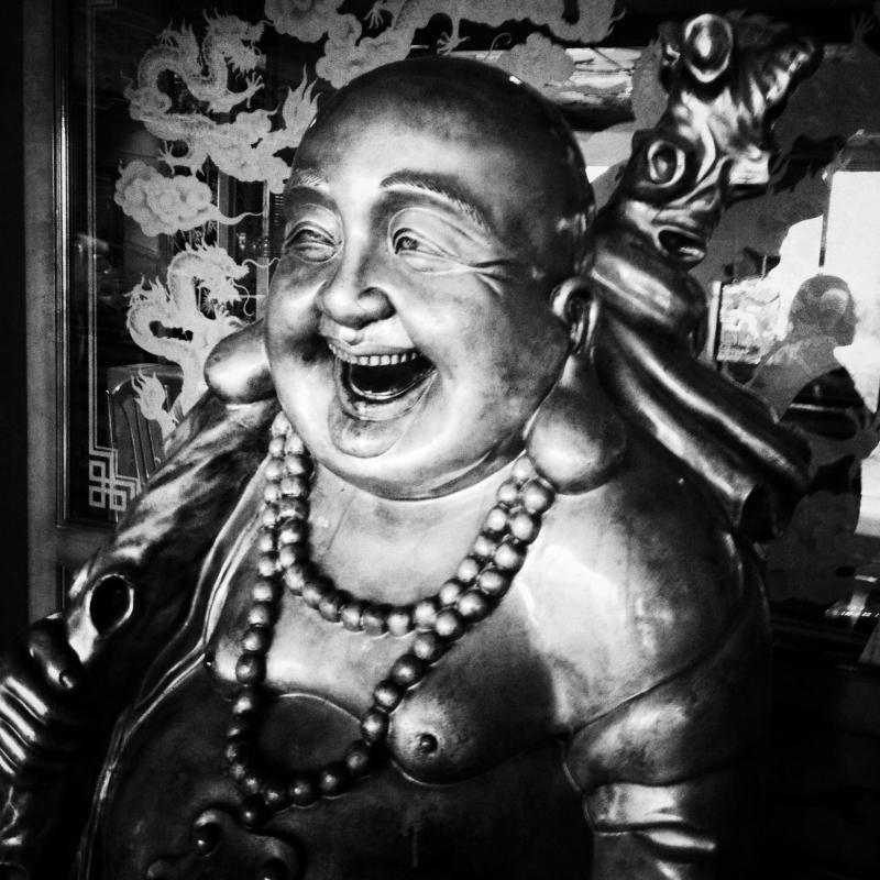 Buddha statue by Jeff Jones