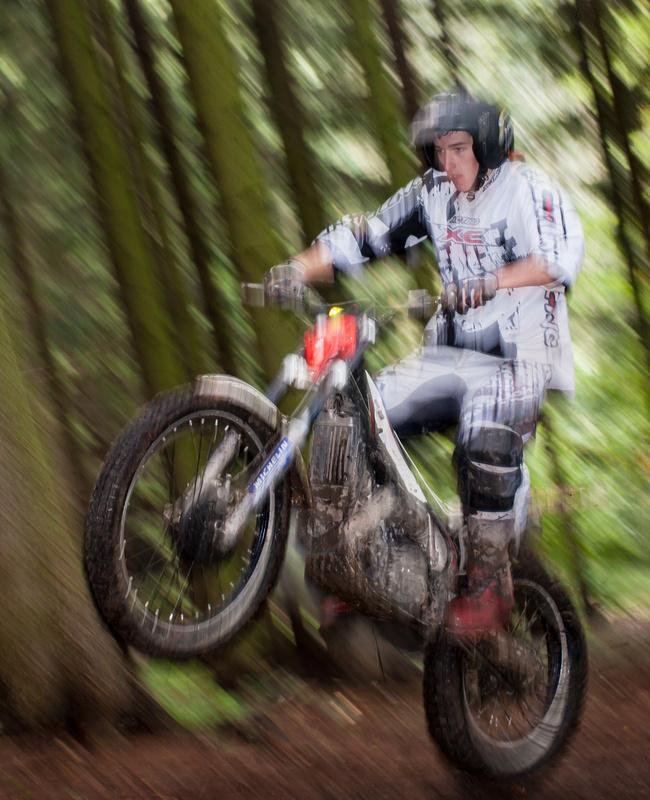 Trials riding by jon snow