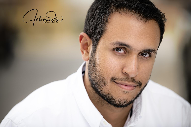 Saoud AlTurki Cinematic Headshot by Abdulaziz AlMutawa