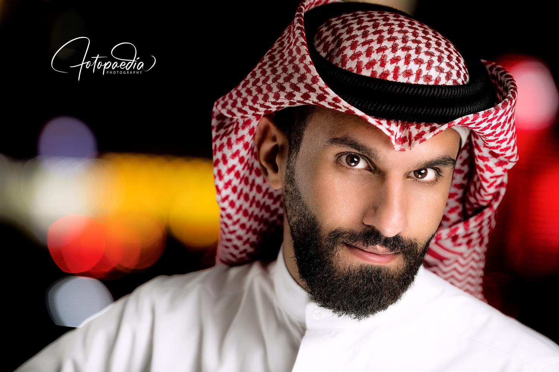 Khaled AlBader Arabian Cinematic Headshot by Abdulaziz AlMutawa