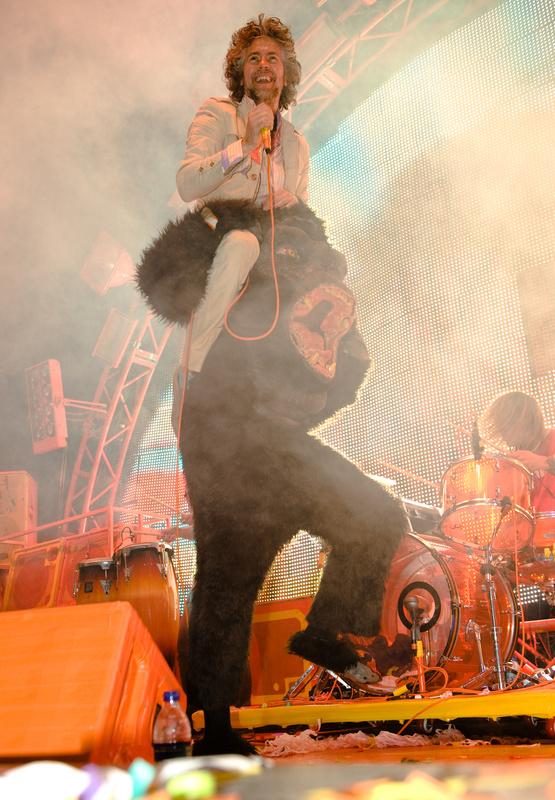 Wayne Riding a Gorilla by Andrew Stegmeyer