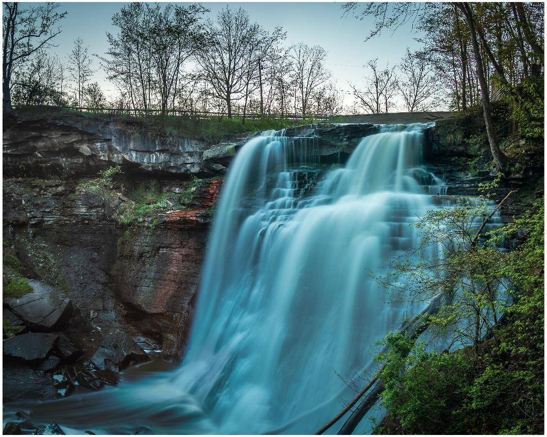 Brandywine Falls by Daniel Frost
