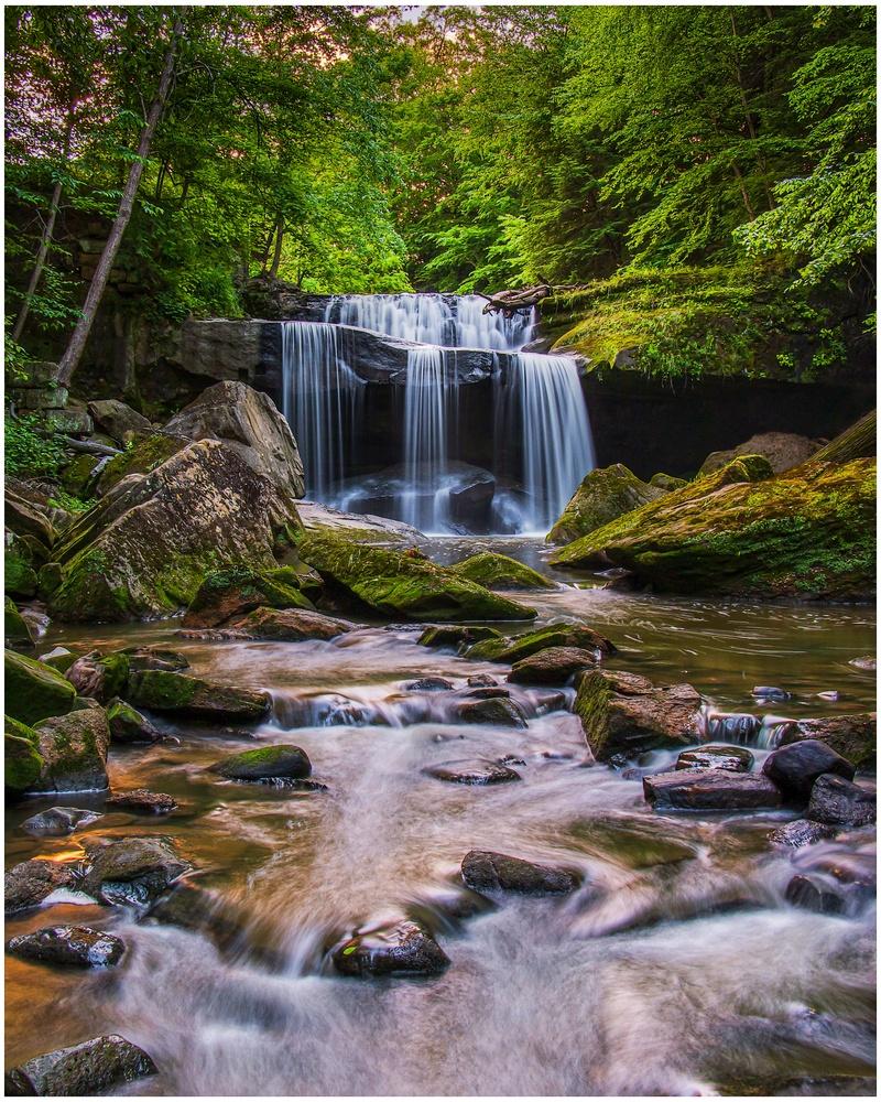 Centerville Mill Falls by Daniel Frost