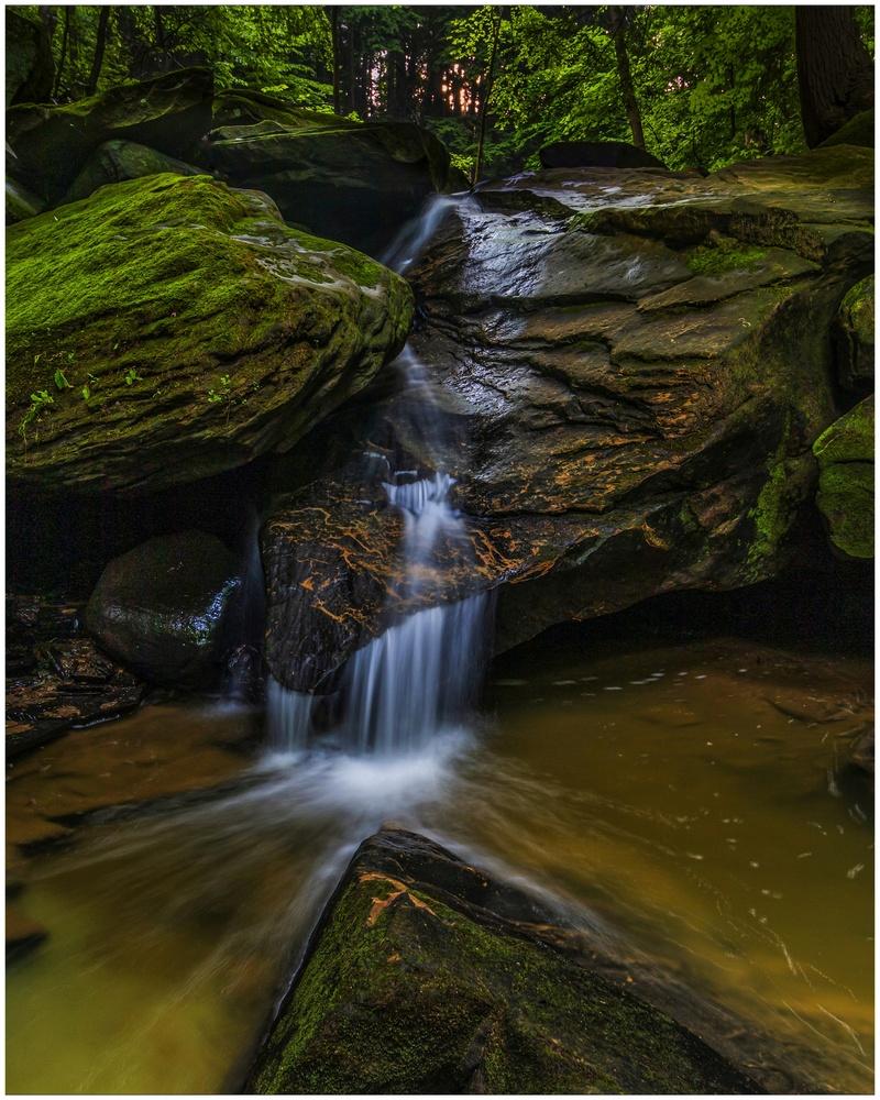 Deerlick Creek Fall by Daniel Frost