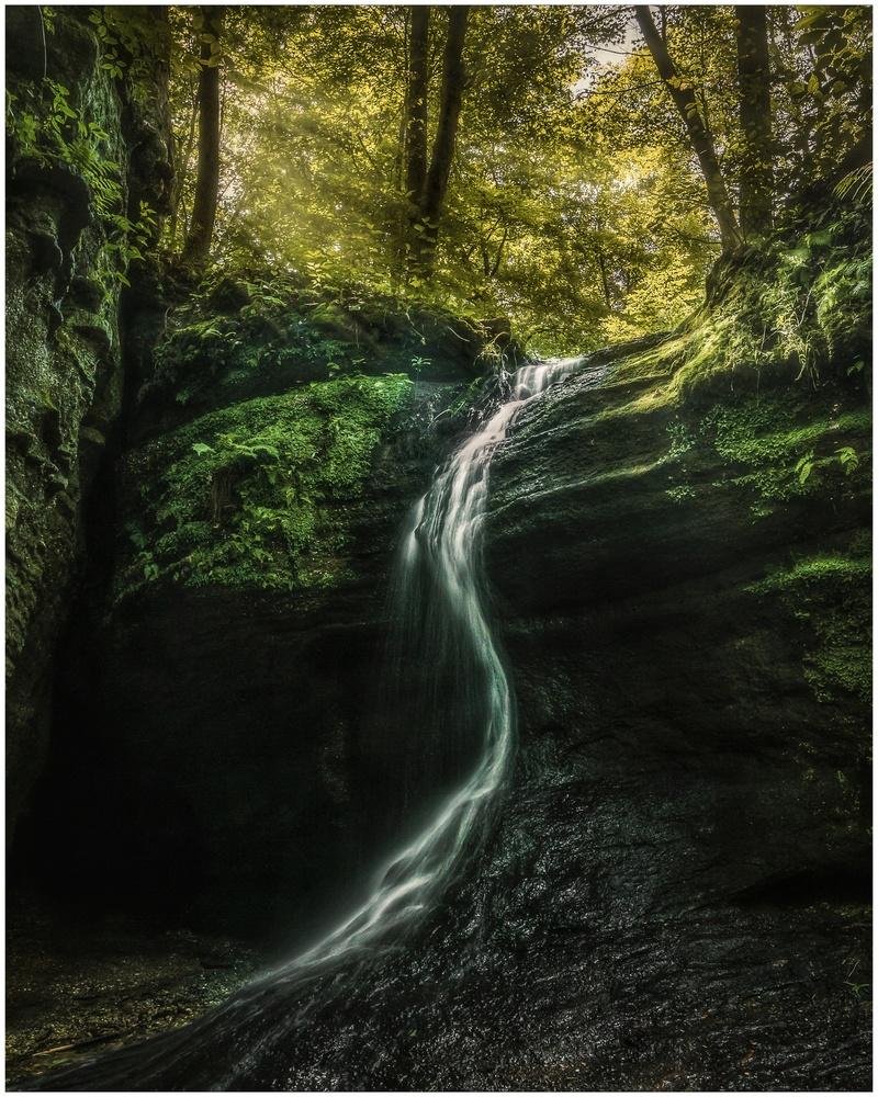 Minniehaha Falls by Daniel Frost