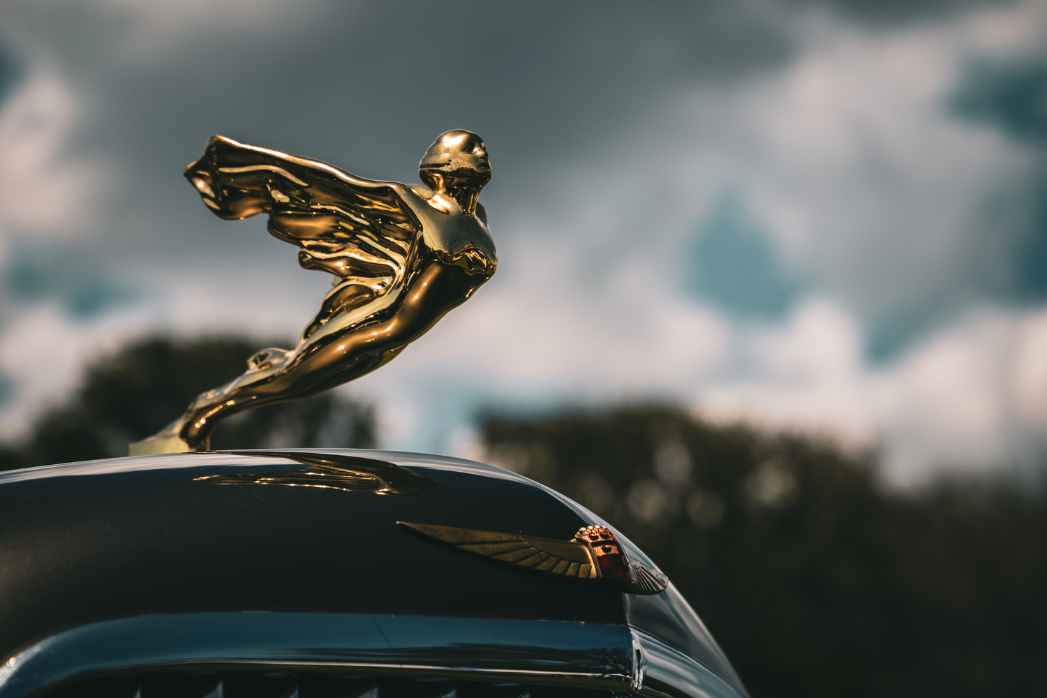 Cadillac Winged Lady by Cam Smith