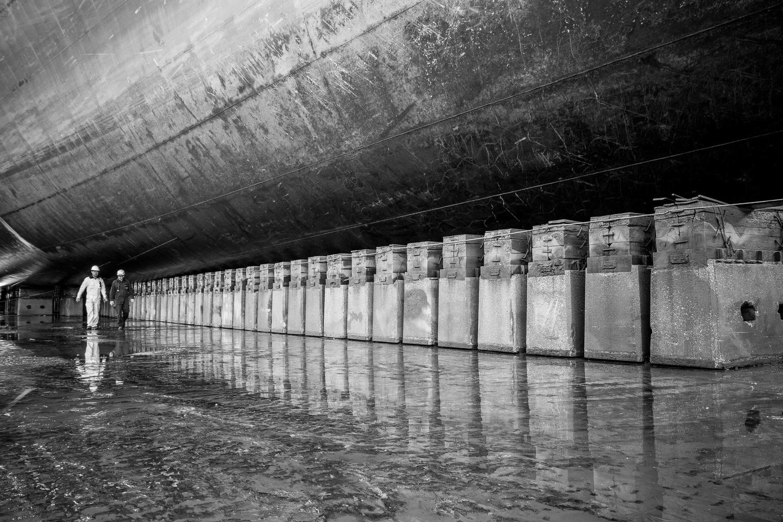 Drydock inspection by Pedro Calado