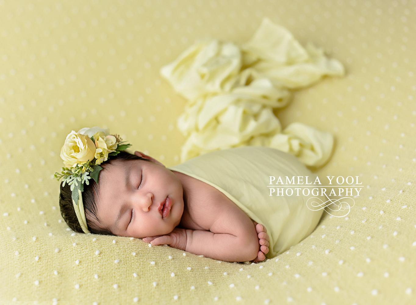 Newborn Baby Julia by Pamela Yool www.pamelayool.com by Pamela Yool