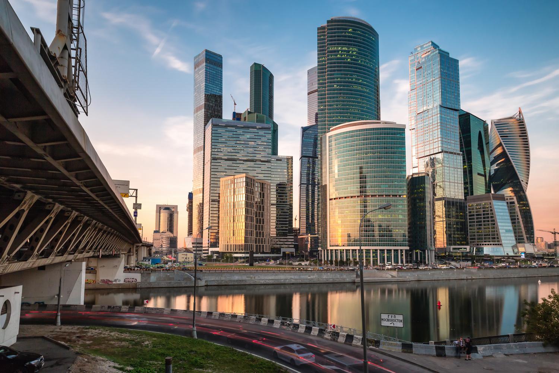 Moscow City by Slava Timoshenko