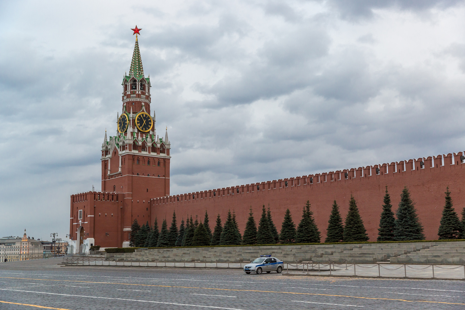 Moscow 2020. Empty Red Square. by Slava Timoshenko